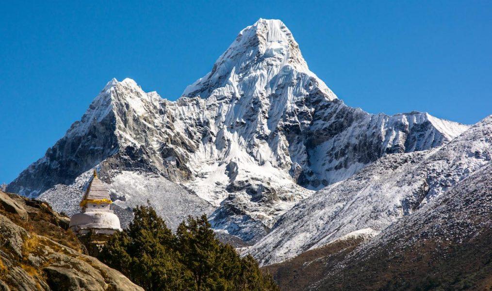 Ski Ama-Dablam (6856m)
