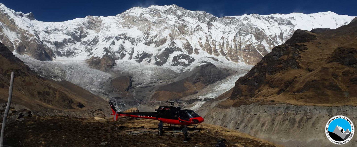 Annapurna Base Camp 4,130m Helicopter Tour