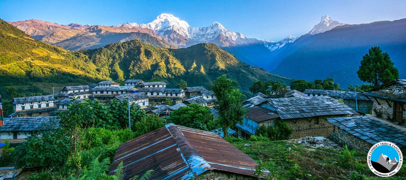 Annapurna Poon Hill ABC via Ghorepani and MBC