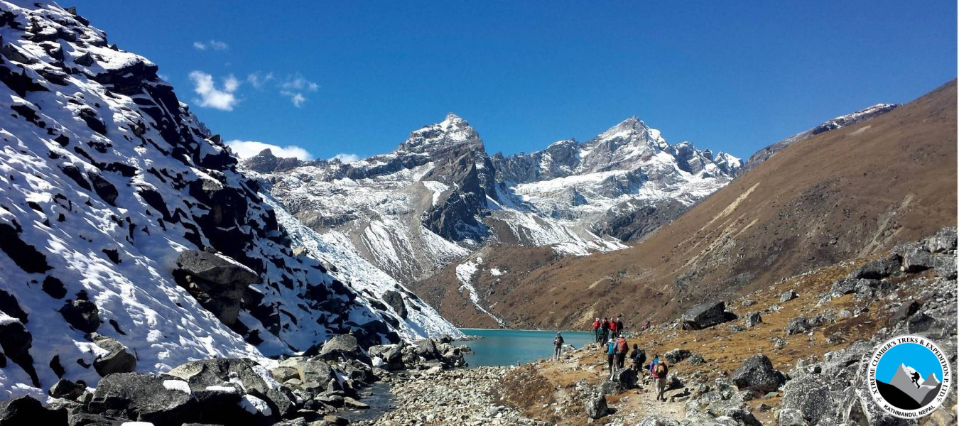 Everest Roilwaling Valley via Tashi Laptsa pass