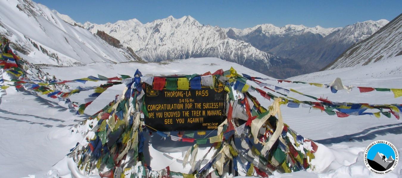 Naar & Phu with Khang-la Pass 5280m -Thorong-la 5416m