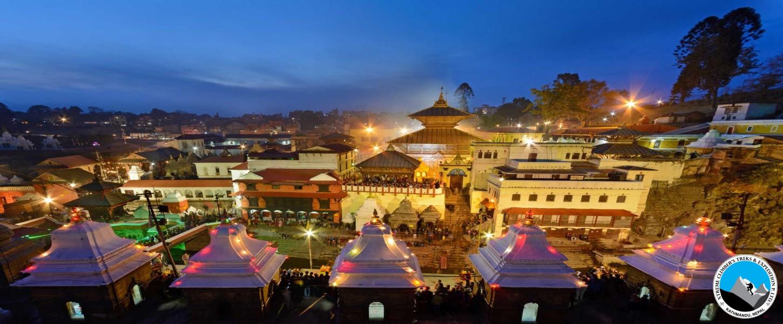3 Pilgrims Swayambhu, Pashupatinath and Boudhanath Tour