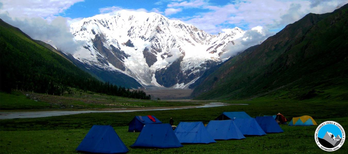 Saipal Himal Base Camp (West Nepal) Camping