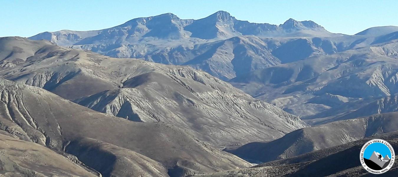 Upper Dolpo Saldang La (5200m) - Jeng La pass (5090m)
